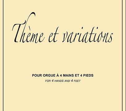 《Thème et Variations》ベルギー初演